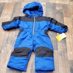 NWT Infant Boys Snowsuit Sz 18 mos